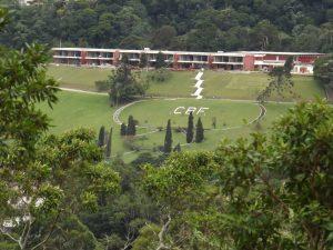 Sede  da Confederação Brasileira de Futebol em Teresópolis RJ